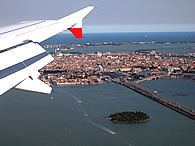Arriving in Venice by air